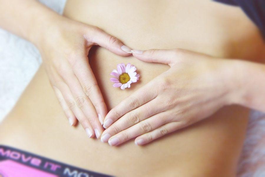 Glückshormone im Bauch